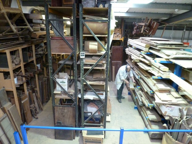 Extensive Stocks of Hardwoods and Veneers