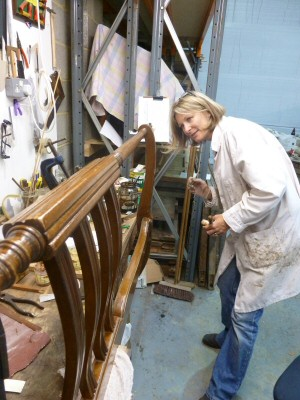 Restoring the Foot of an Edwardian Bed