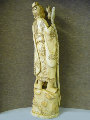 Restoration of an Ivory Figure - After