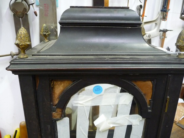 Restoration of an 18thC Ebony London Bracket Clock